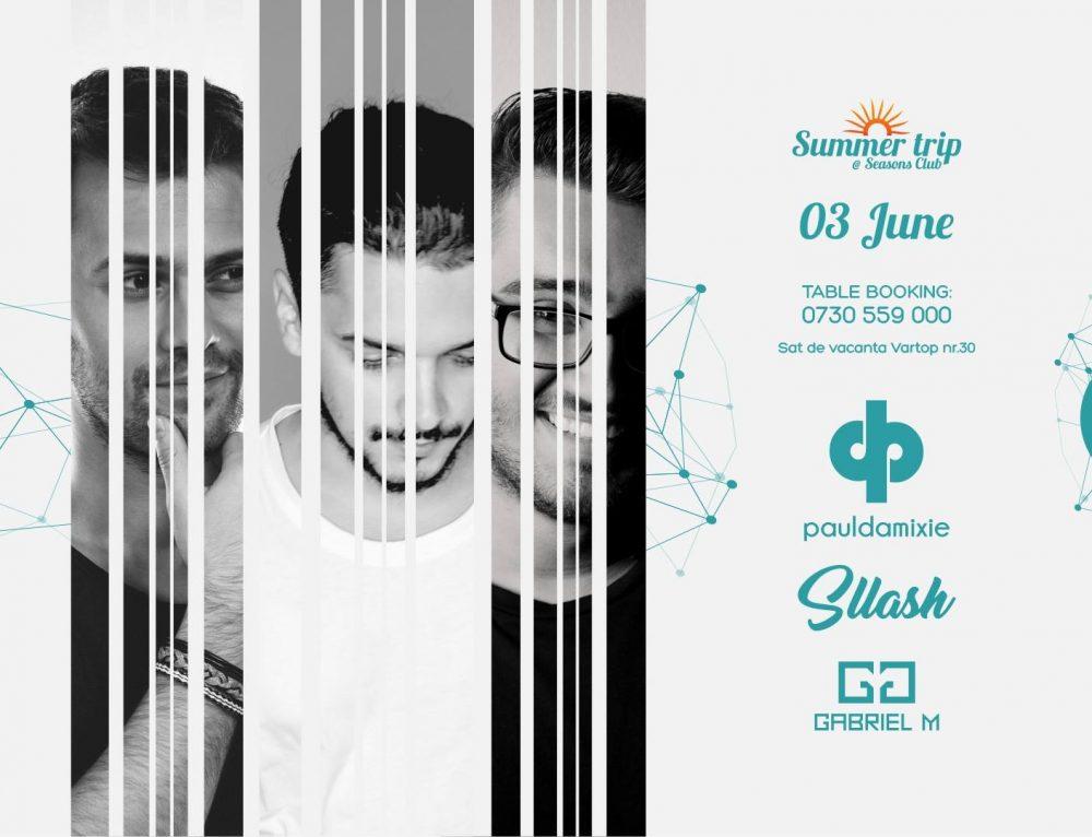 Summer trip w. Paul Damixie / Sllash / Gabriel M